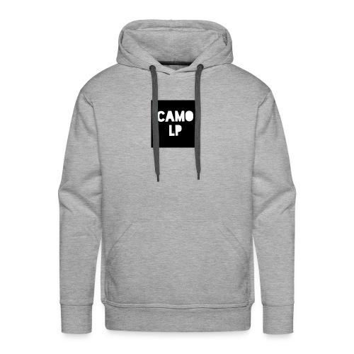 Camo lp logo - Männer Premium Hoodie