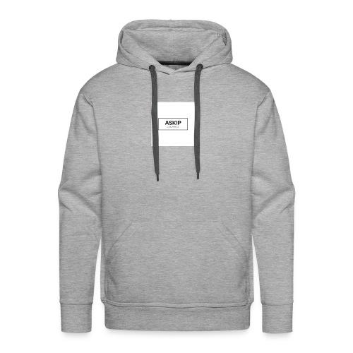 tchicaya - Sweat-shirt à capuche Premium pour hommes