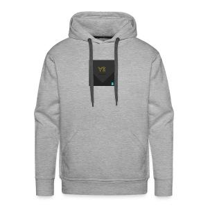 YourStyleLogo - Sweat-shirt à capuche Premium pour hommes