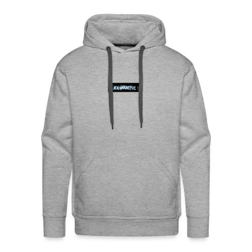 DerHardstyle.ch Kleines Logo - Männer Premium Hoodie