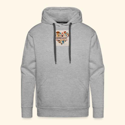 Deutschland - Sweat-shirt à capuche Premium pour hommes
