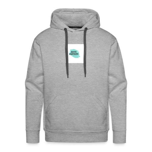 beste vriendeSpace - Mannen Premium hoodie