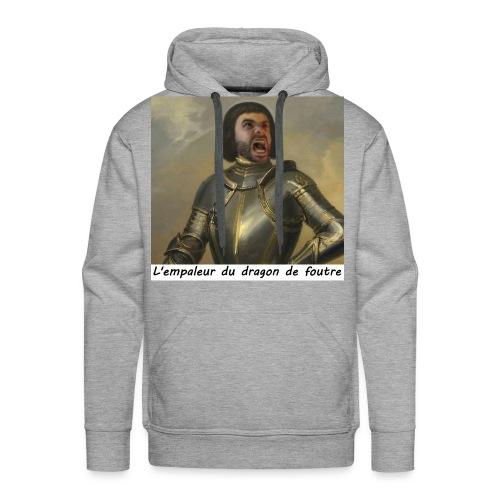 l'empaleur - Sweat-shirt à capuche Premium pour hommes
