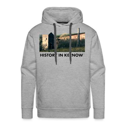 HISTORY IN KERNOW EAST WHEAL ROSE - Men's Premium Hoodie