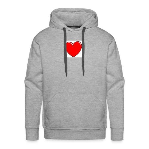 Love shirts - Mannen Premium hoodie