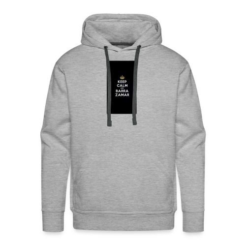 Keep Calm and barra zamer - Männer Premium Hoodie