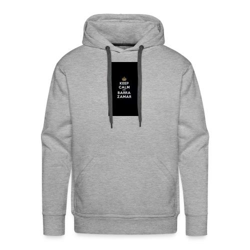 Keep Calm and barra zamer - Männer Premium Hoodie