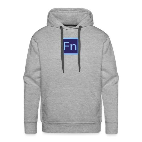 Borraccia falsonome FN - Felpa con cappuccio premium da uomo