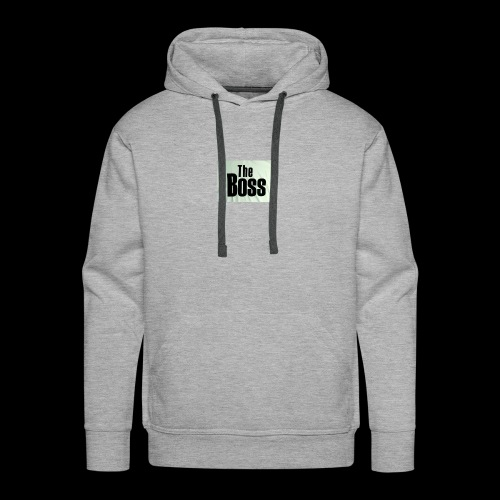the boss - Men's Premium Hoodie