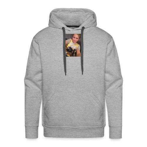 olviapearsonvlogs picture design - Men's Premium Hoodie