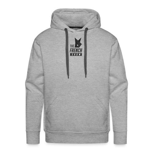 The French Show LOGO pt.1 - Sweat-shirt à capuche Premium pour hommes