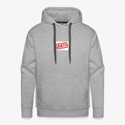 verkopenmetgratis - Mannen Premium hoodie