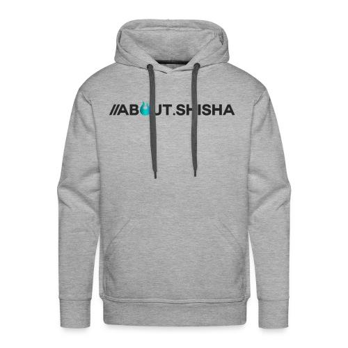 About.Shisha Schriftzug - Männer Premium Hoodie