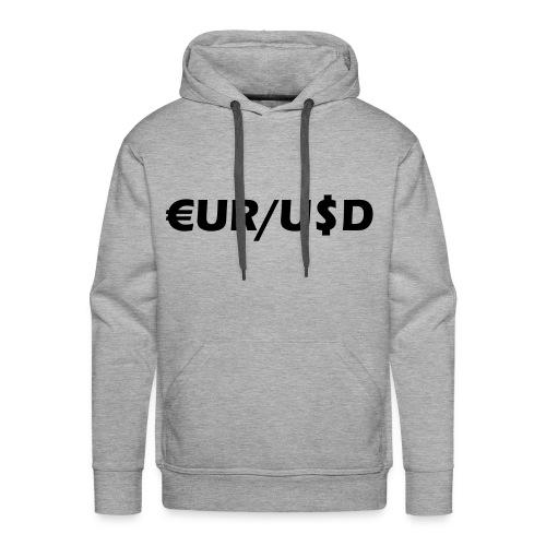 EUR/USD - Männer Premium Hoodie
