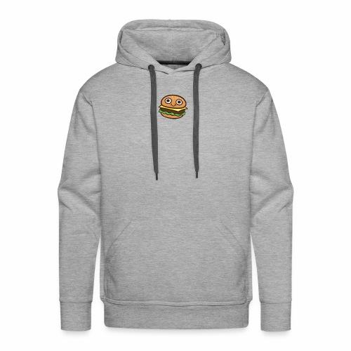 Burger Cartoon - Mannen Premium hoodie