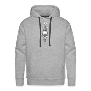 with love comes death - Men's Premium Hoodie