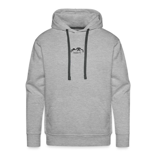 OscarH TV logo 2 Camera - Men's Premium Hoodie
