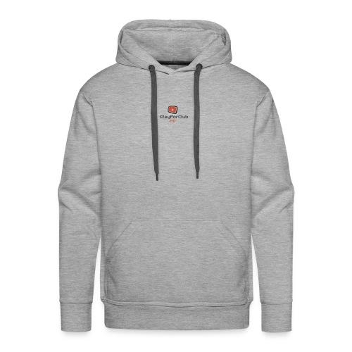 PlayForClub HD - Sweat-shirt à capuche Premium pour hommes