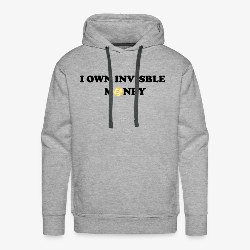 Invisible Money - Men's Premium Hoodie