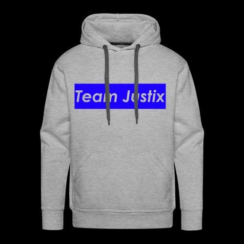 Team Justix im Supremestyle (blau) - Männer Premium Hoodie