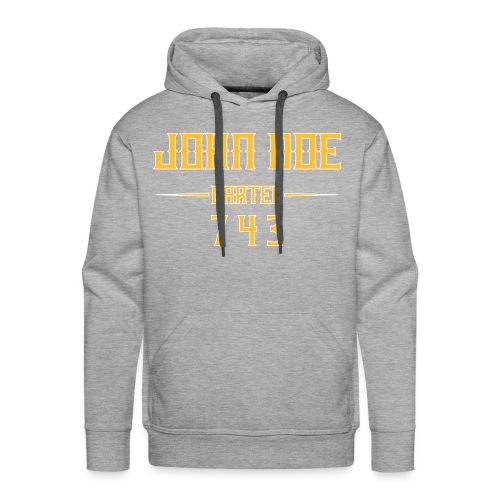 JDC 743 Luxury - Sweat-shirt à capuche Premium pour hommes