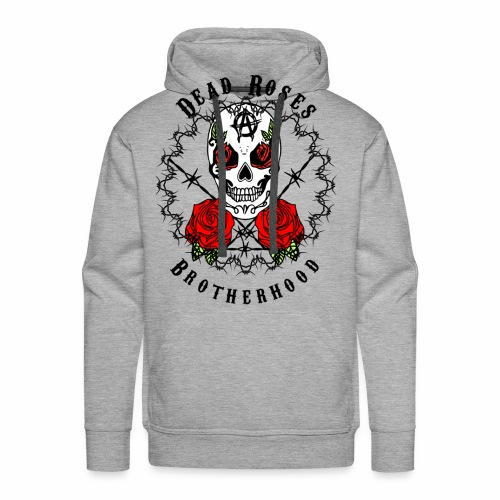 Dead Roses 2nd Logo - Men's Premium Hoodie