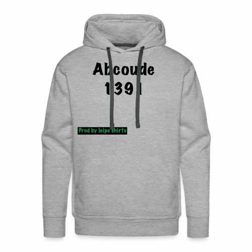 Abcoude post code merk - Mannen Premium hoodie