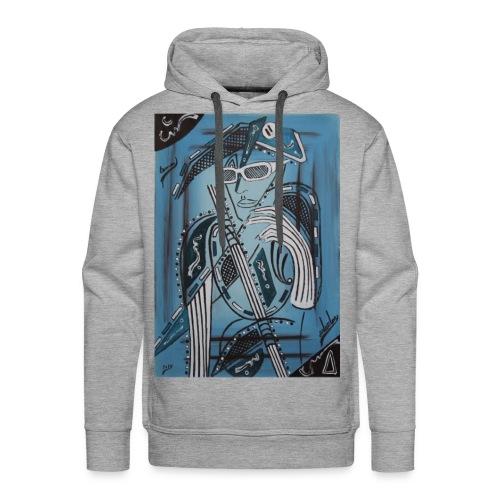 Salvator1 - Sweat-shirt à capuche Premium pour hommes