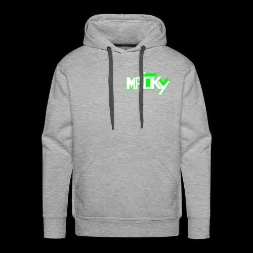 MaickyTv Grün - Männer Premium Hoodie