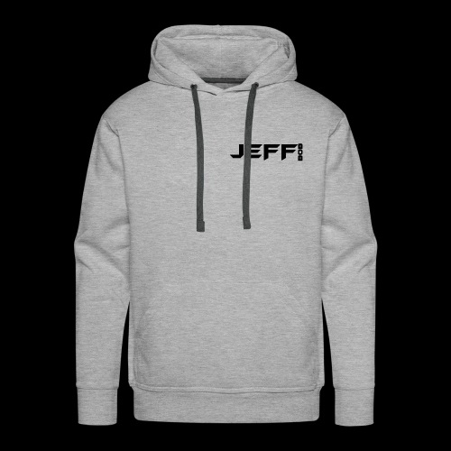 Jeff bob (small logo) - Men's Premium Hoodie
