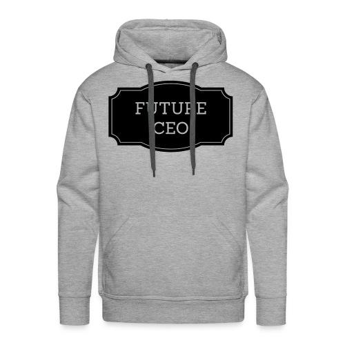 Future CEO - Bluza męska Premium z kapturem