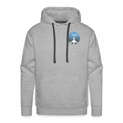 LL Aerospace Official Logo - Men's Premium Hoodie