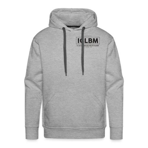 IGLBM Brust Logo - Männer Premium Hoodie