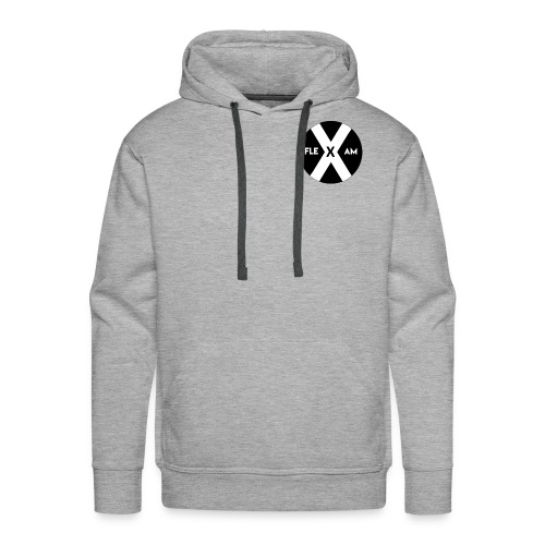 fleXam Basic Collection - Mannen Premium hoodie