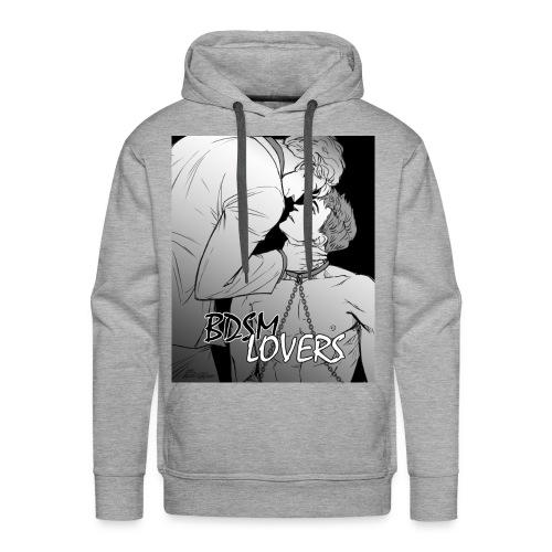 BDSM Lovers - Felpa con cappuccio premium da uomo