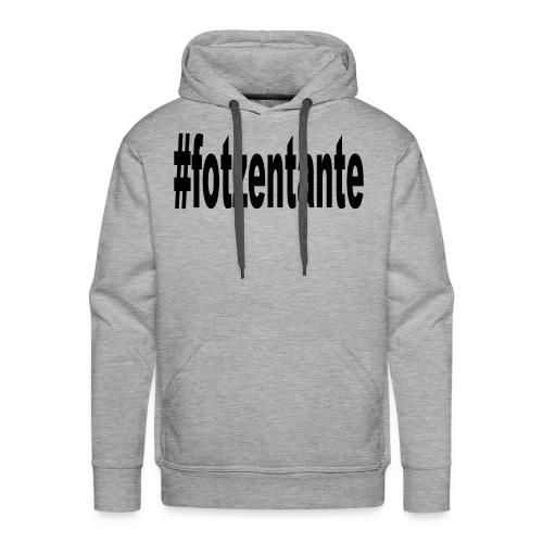 #fotzentante - Männer Premium Hoodie