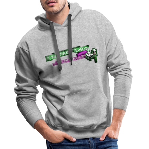 The Talk Show Presented by PWG Pro Wrestling Globa - Men's Premium Hoodie