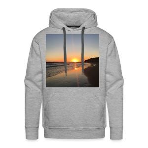 coucher de soleil - Sweat-shirt à capuche Premium pour hommes