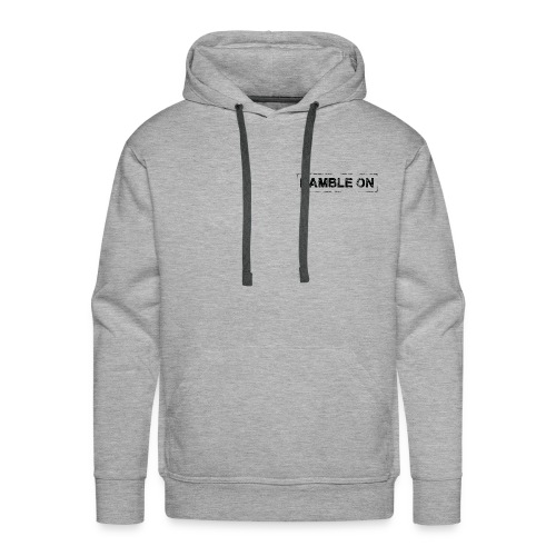 Ramble On Stamp - Men's Premium Hoodie