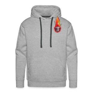 Abstract H LETTER - Mannen Premium hoodie