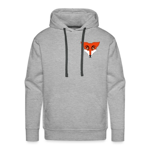 Renard Orange Cartoon - Sweat-shirt à capuche Premium pour hommes