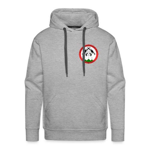 Logo Dynamische Sportschuetzen Rhoen DSR - Männer Premium Hoodie