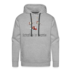 Schaflos in Seattle - Sheep Storys - Männer Premium Hoodie