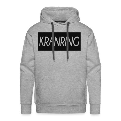 Kranring_Shirt_Logo - Premiumluvtröja herr