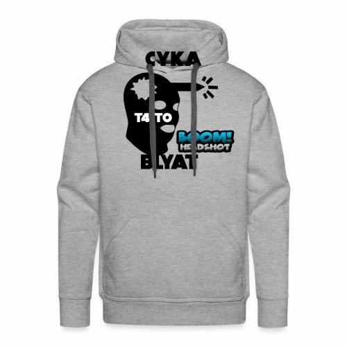 CYKA BLYAT T4IT0 - Männer Premium Hoodie