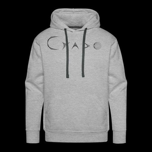 CYADO FAT BLACK - Sweat-shirt à capuche Premium pour hommes