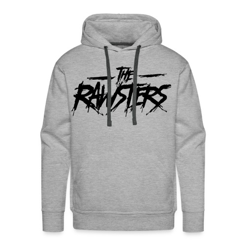 The Rawsters Logo - Sweat-shirt à capuche Premium pour hommes