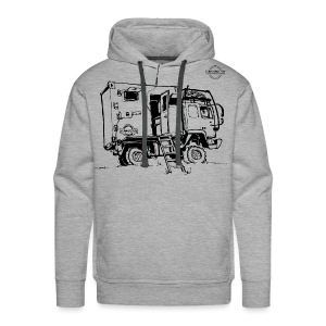 Sketch Expedition Truck Terratrotter® - Men's Premium Hoodie