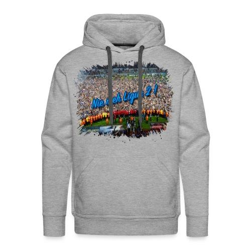 Nie meh Ligue 2 ! - Sweat-shirt à capuche Premium pour hommes
