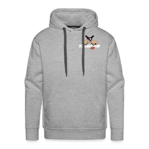 Trigger Weiß kleines Logo - Männer Premium Hoodie